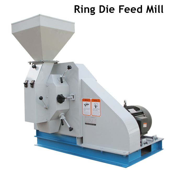 China Manufacture Animal Feed Pellet Making Mill