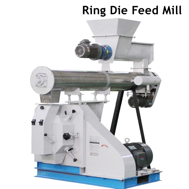 Professional Ring Die Animal Feed Pellet Making Machine