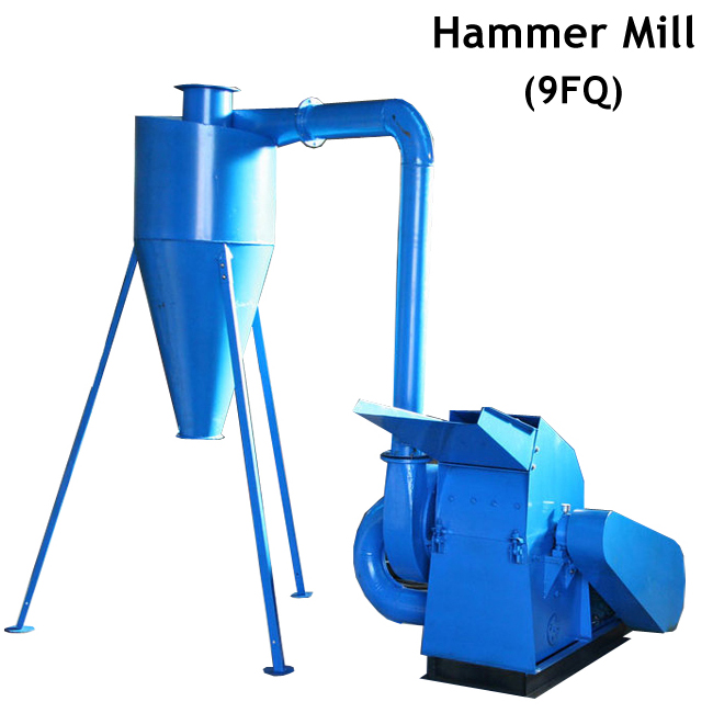 Livestock Feed Straw Corn Maize Hammer Mill Grinder