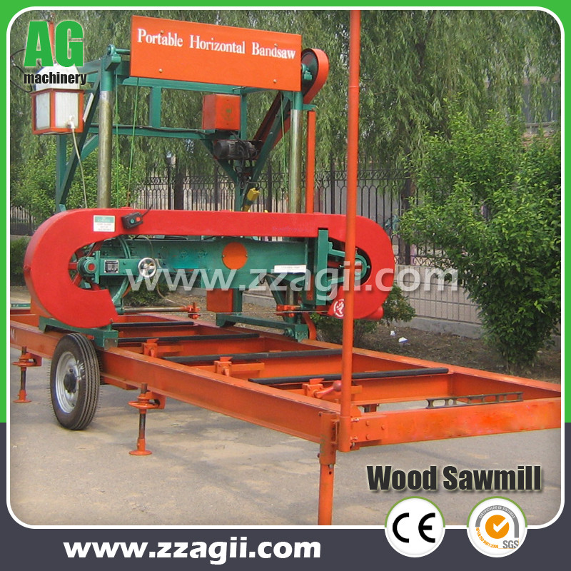 Forest Portable Horizontal Band Sawmill Machine