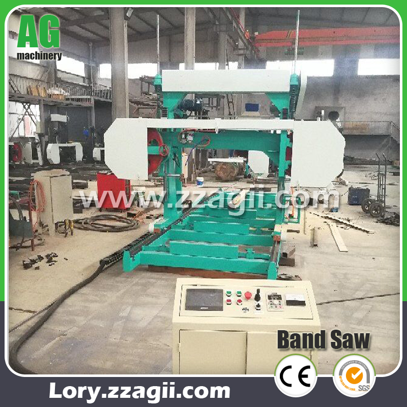 MJ1000 Horizontal Electric Timber Wood Band Sawmill