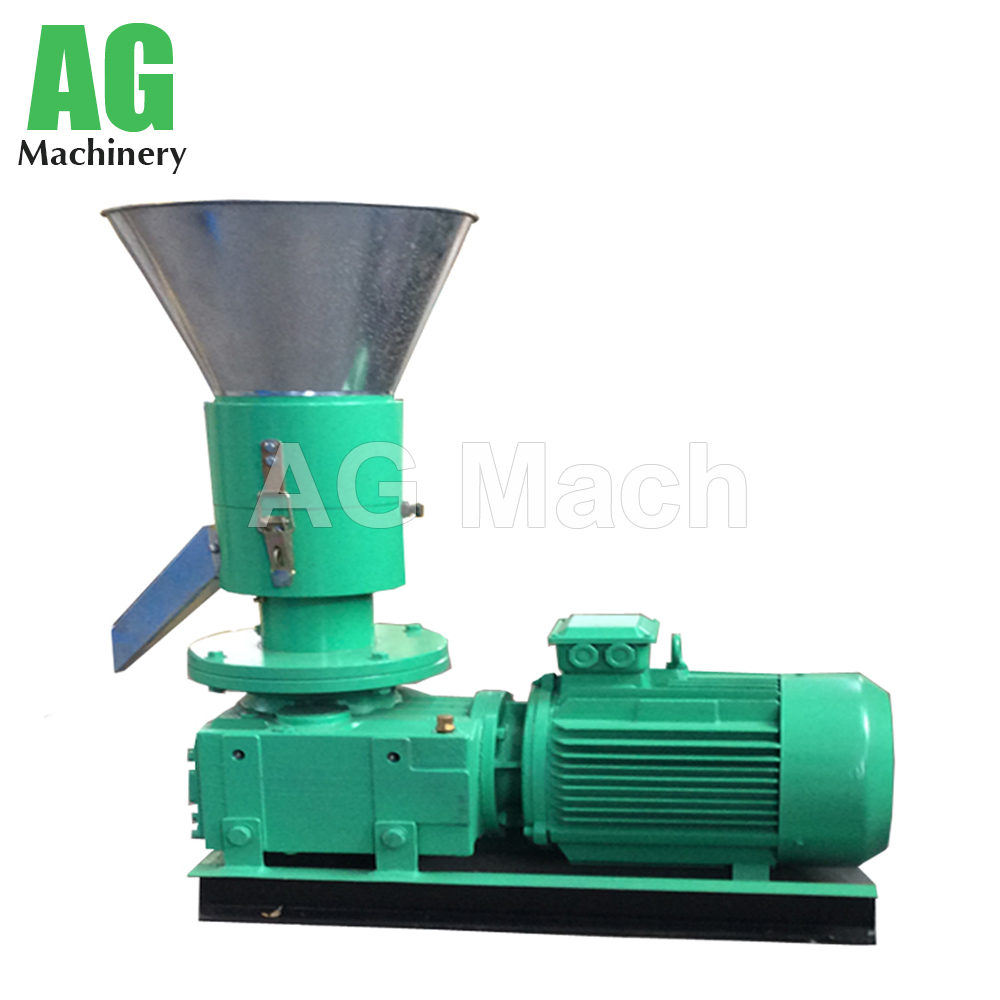 KAF 200 Home Use Small Biomass Flat Die Wood Pellet Machine