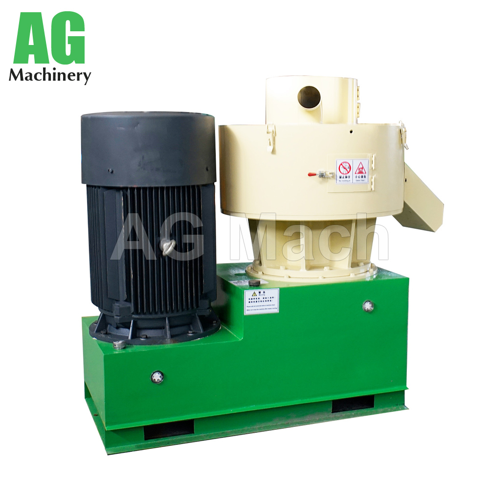 Bioenergy biomass pelletizer vertical ring die sawdust wood pellet mill machine
