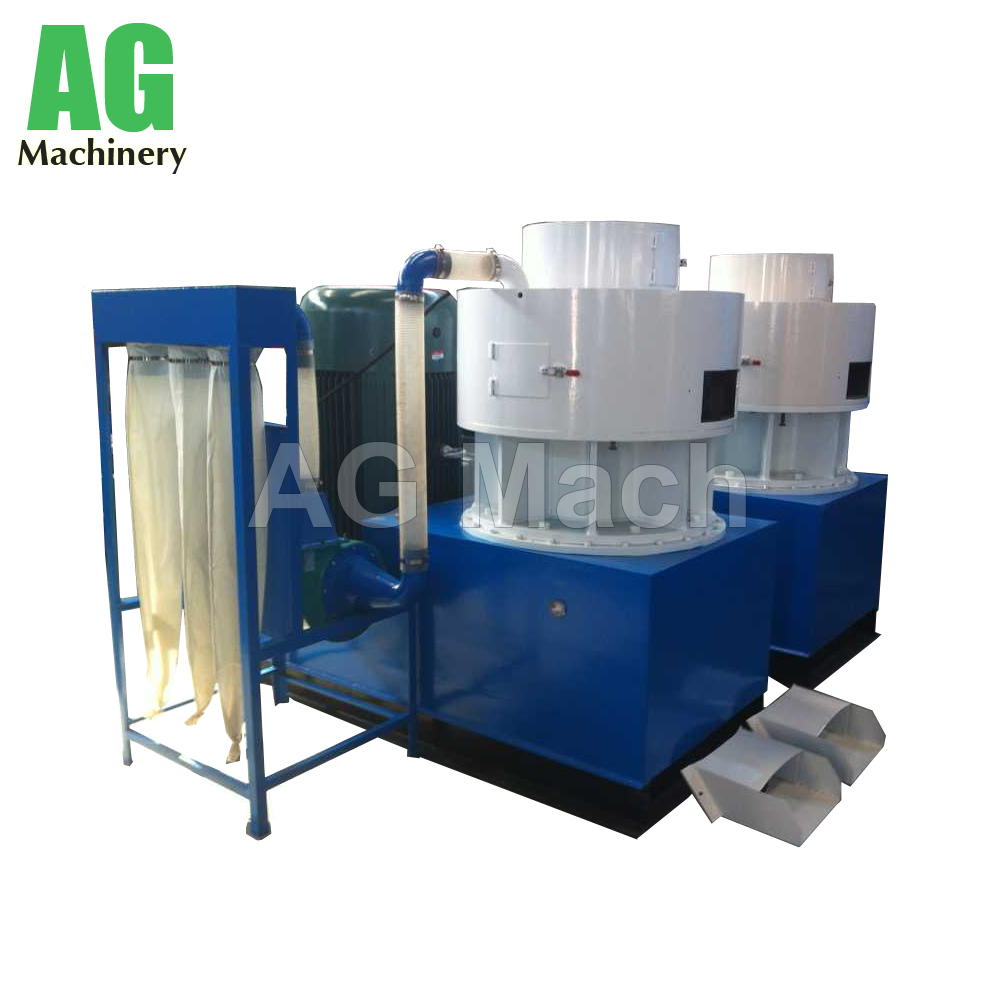 1000kg/h Large Capacity Vertical Ring Die Wood Pellet Press Machine
