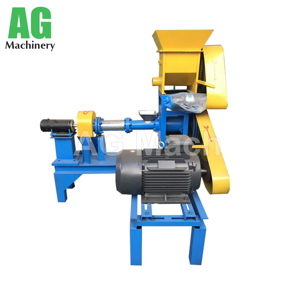 China Factory Screw Type Floating Fish Feed Making Machine