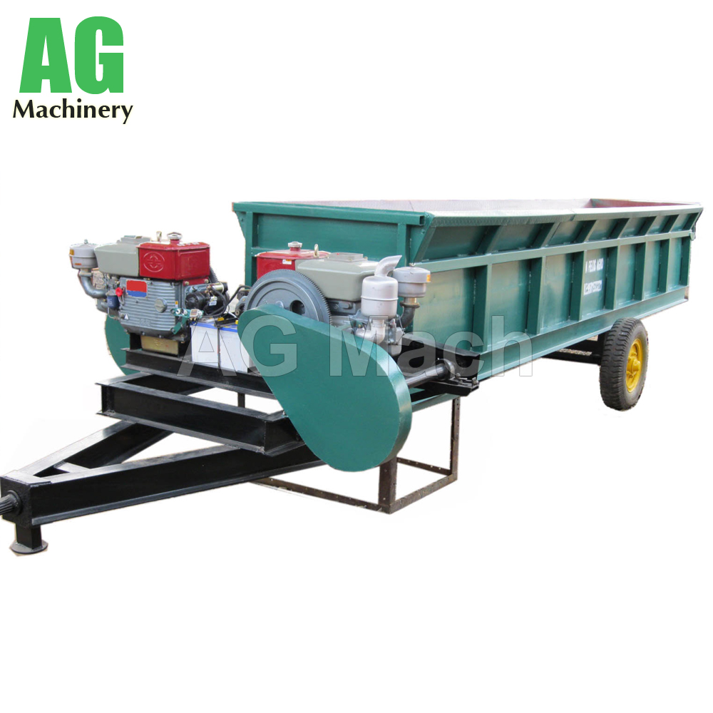 Mobile Log Debarking Machine Diesel Engine Wood Debarker for Sale