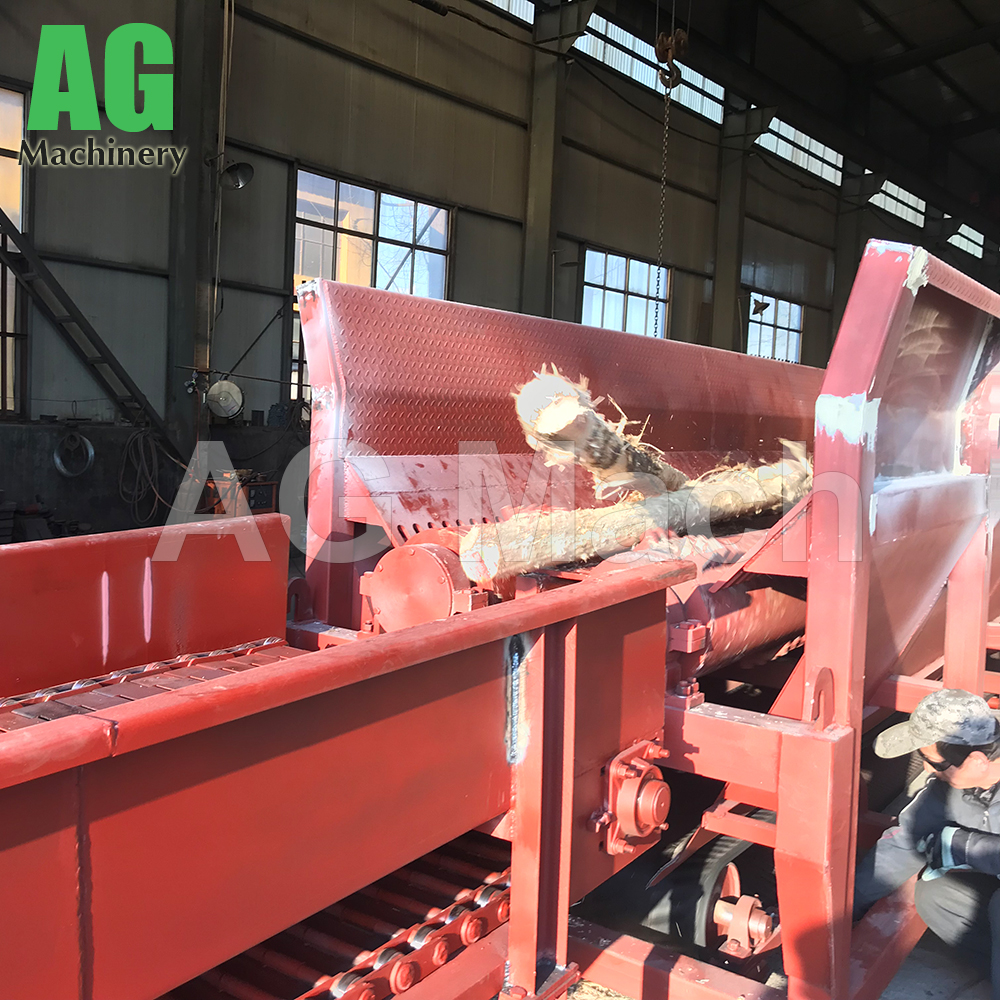 Factory Direct Sale Tree Peeling Machine Eucalyptus Log Debarker for Sale