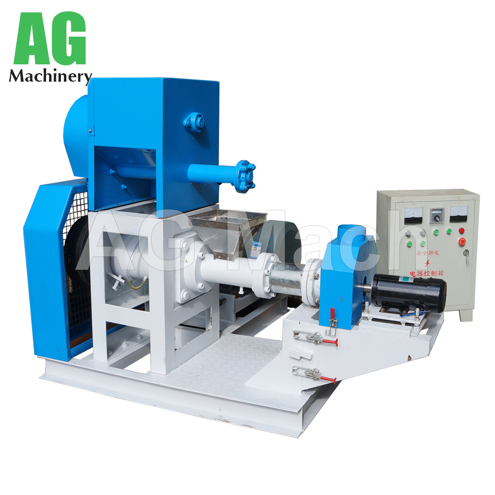 Durable Dog Food Processing Machine Fish Feed Extruder