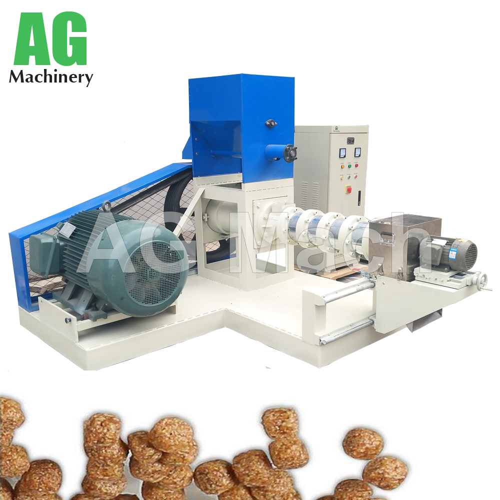 Animal Feed Processing Equipment Floating Fish Feed Making Machine