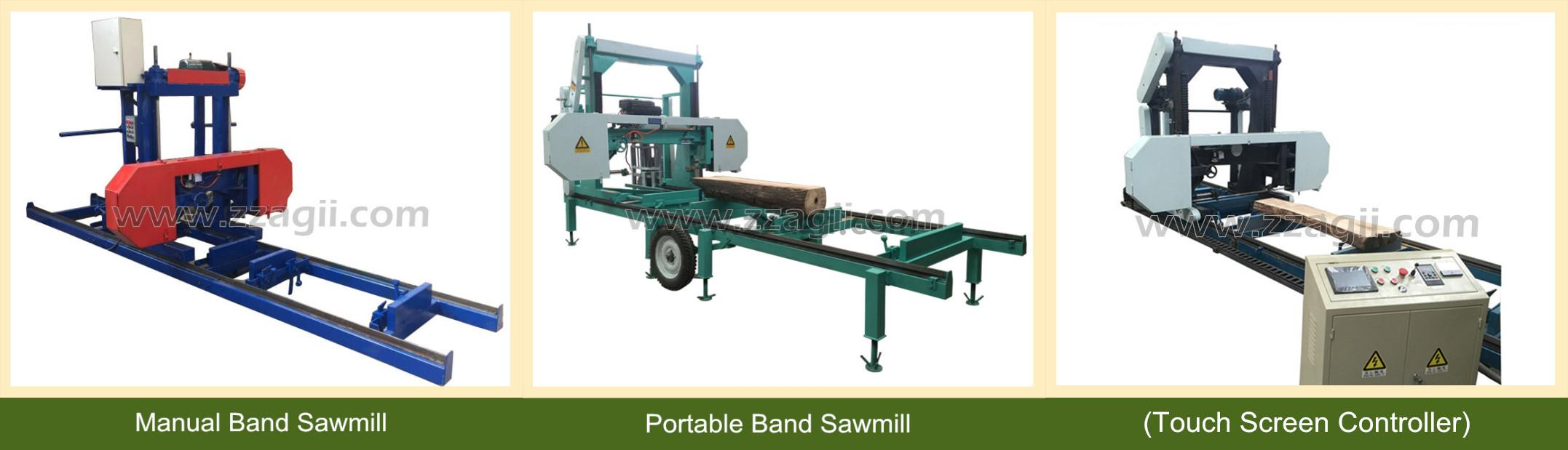 Automatic Industrial Wood Sawmill for wood logs cutting